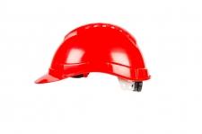 Каска защитная SAFE-GUARD, с вентиляцией