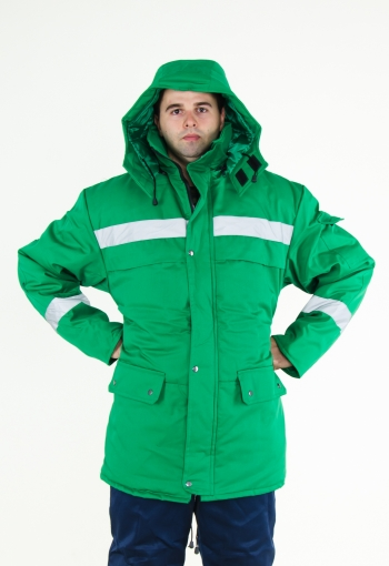 Куртка ТАЙГА Зеленая