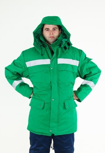 Куртка ТАЙГА зелена